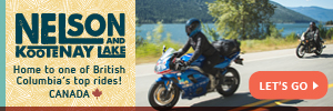 Severn Bridge to Bala ON Nelson Kootenay Lake by Motorcycle