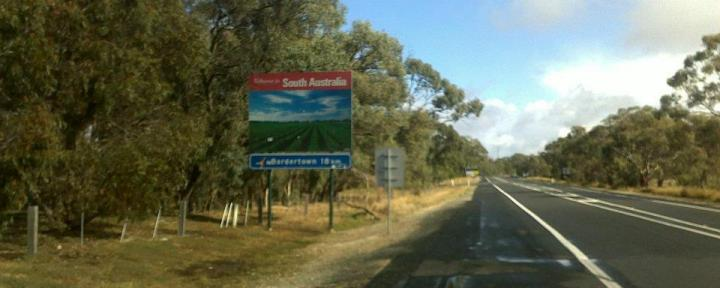 adelaide-to-moranbah-with- Itinéraire Photo
